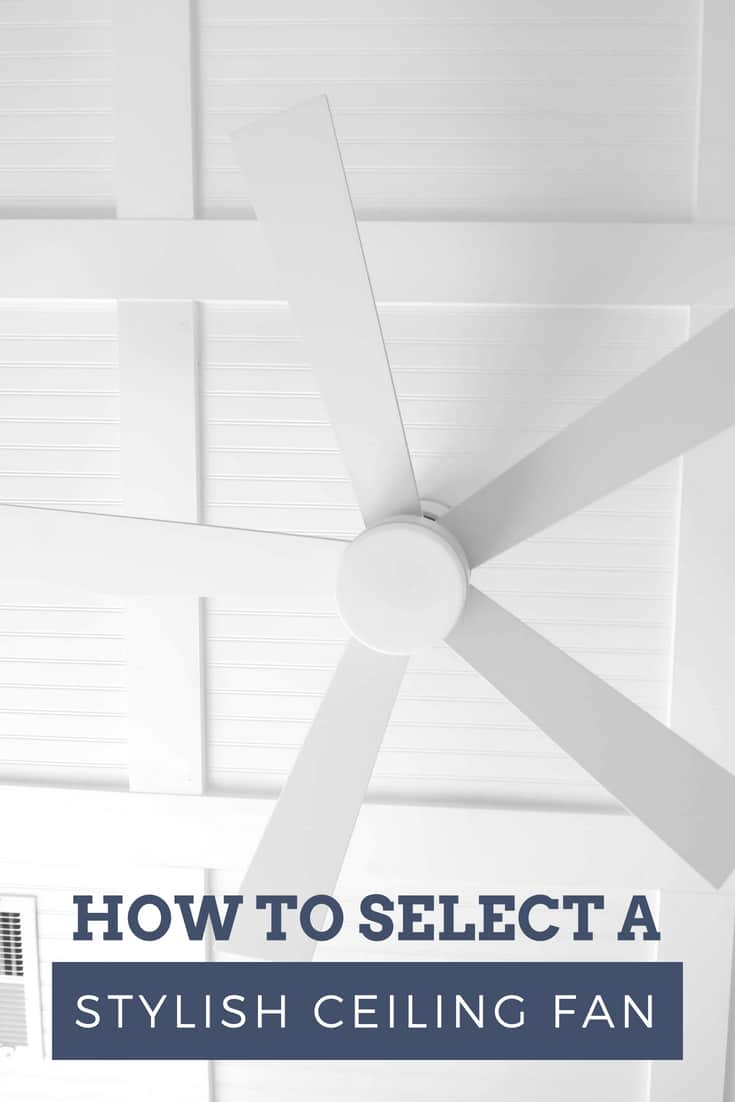How to select A Stylish Ceiling Fan