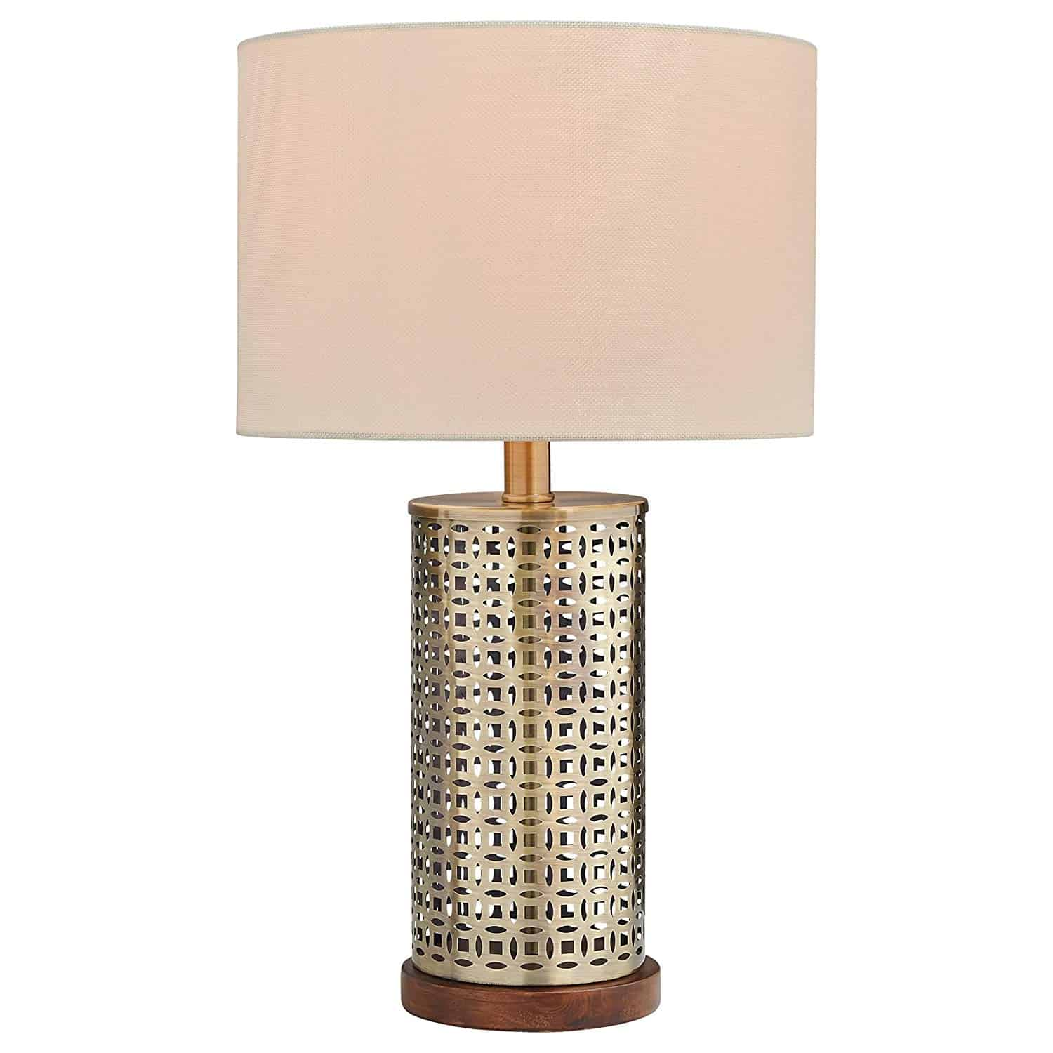 Stone & Beam Modern Mesh Table Lamp