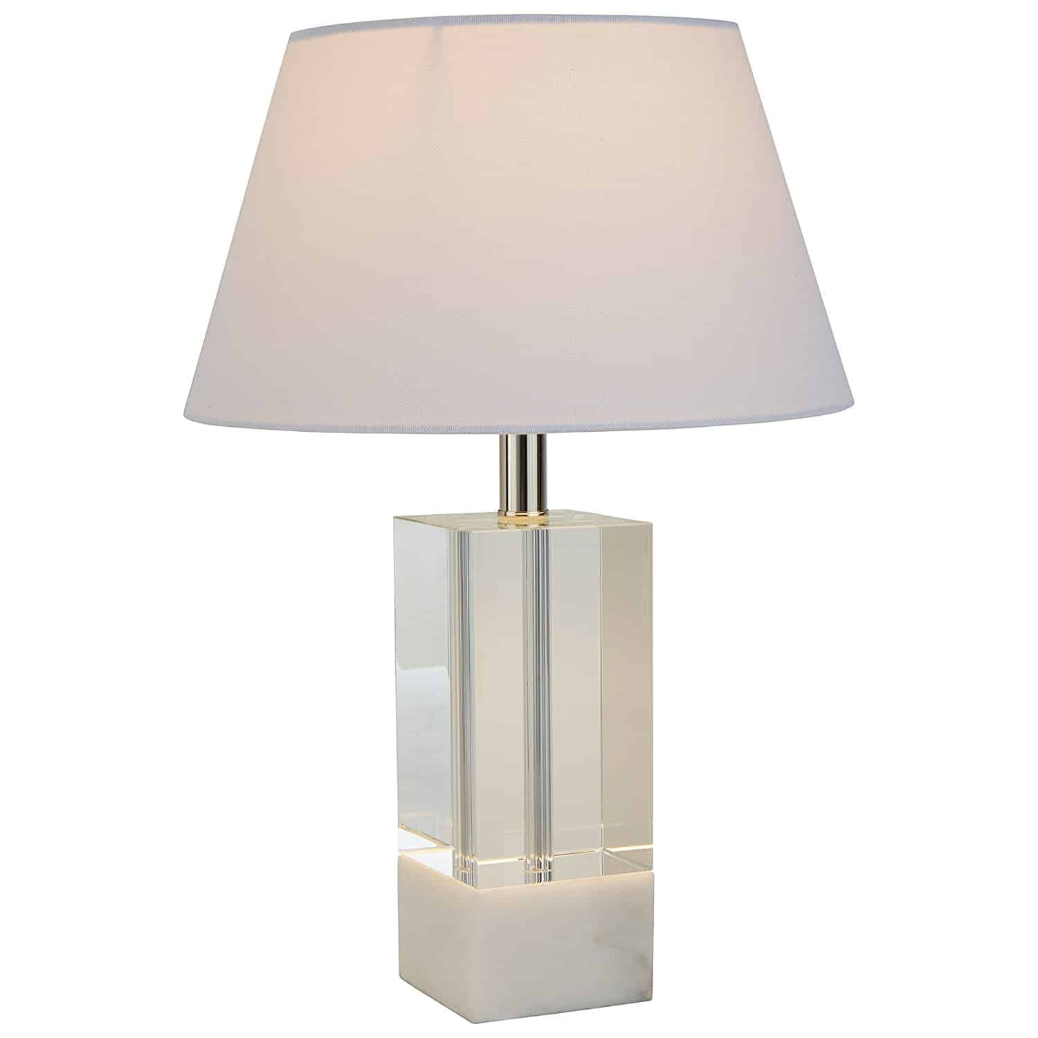 Stone & Beam Modern Crystal Table Lamp