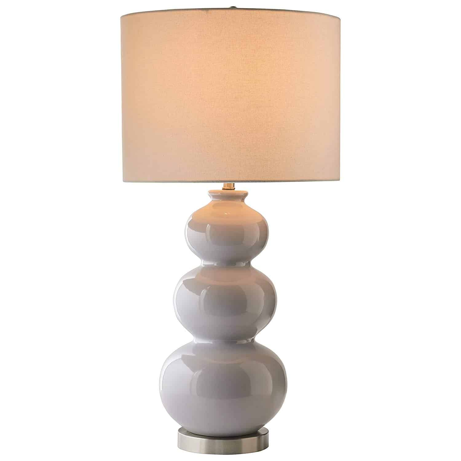 Stone & Beam 3-Sphere Ceramic Lamp