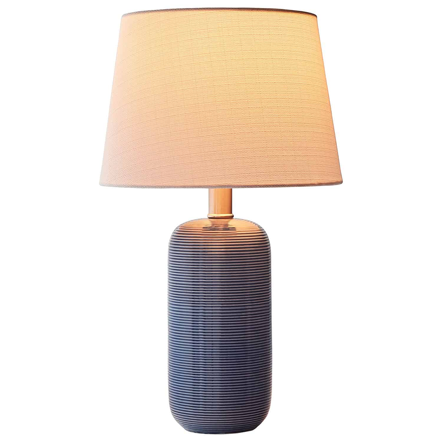 Stone & Beam Leland Modern Textured Table Lamp