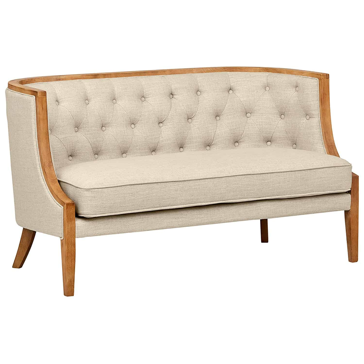 Stone & Beam Laurel Rounded Loveseat