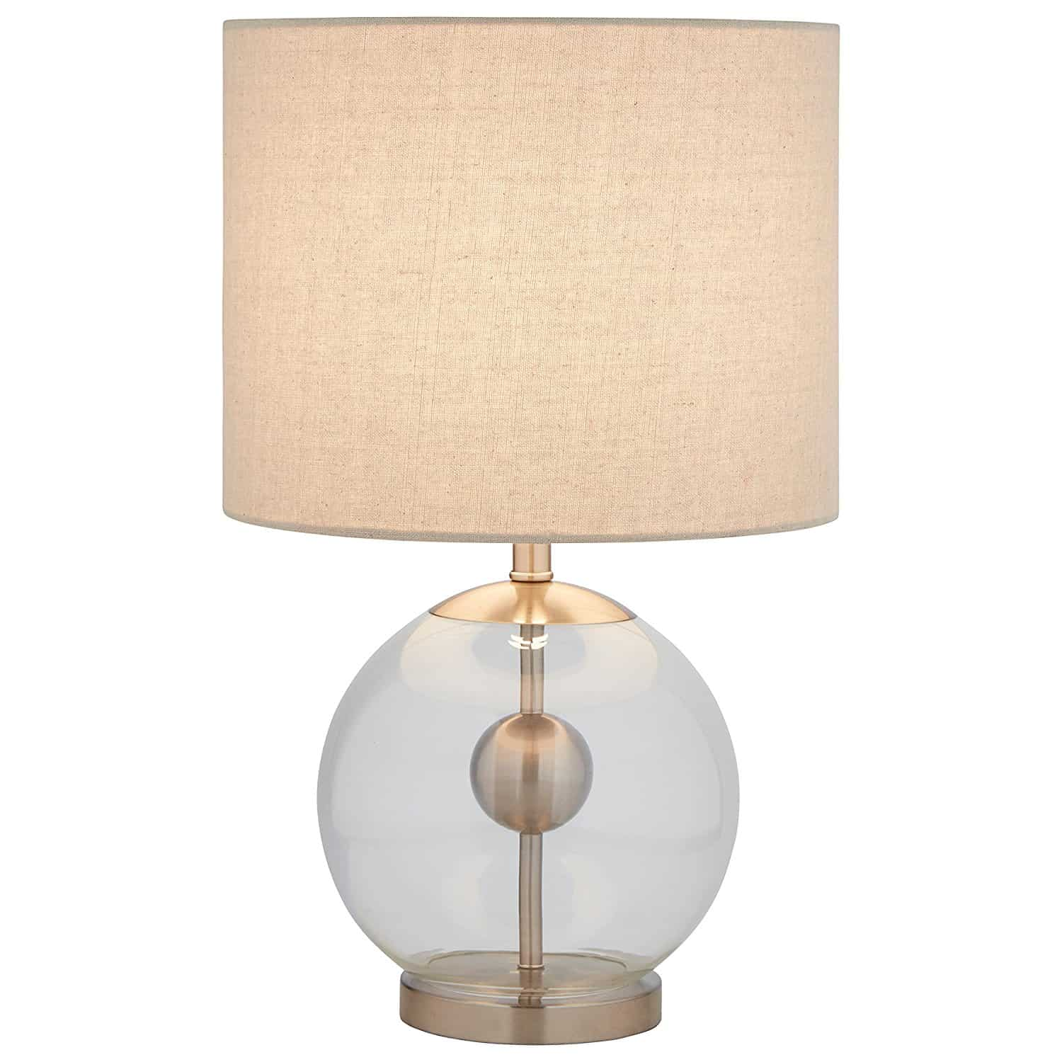 Stone & Beam Pearl Modern Glass Orb Lamp