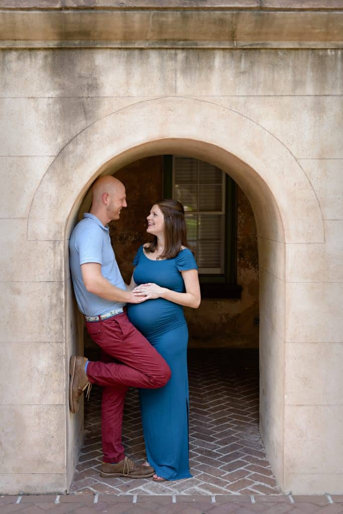 Maternity Photos College of Charleston