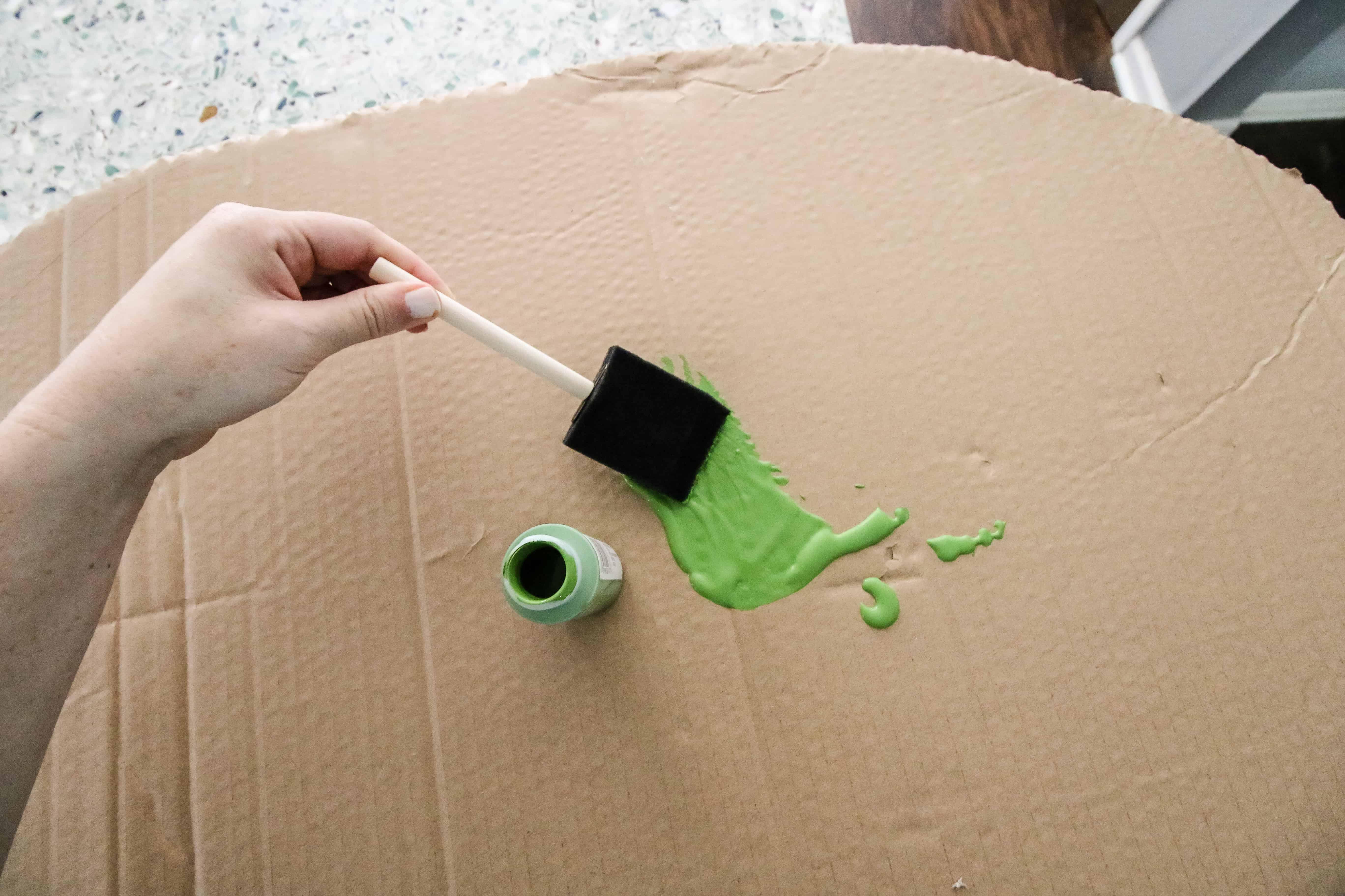 How to make a DIY Pregnant Avocado Costume