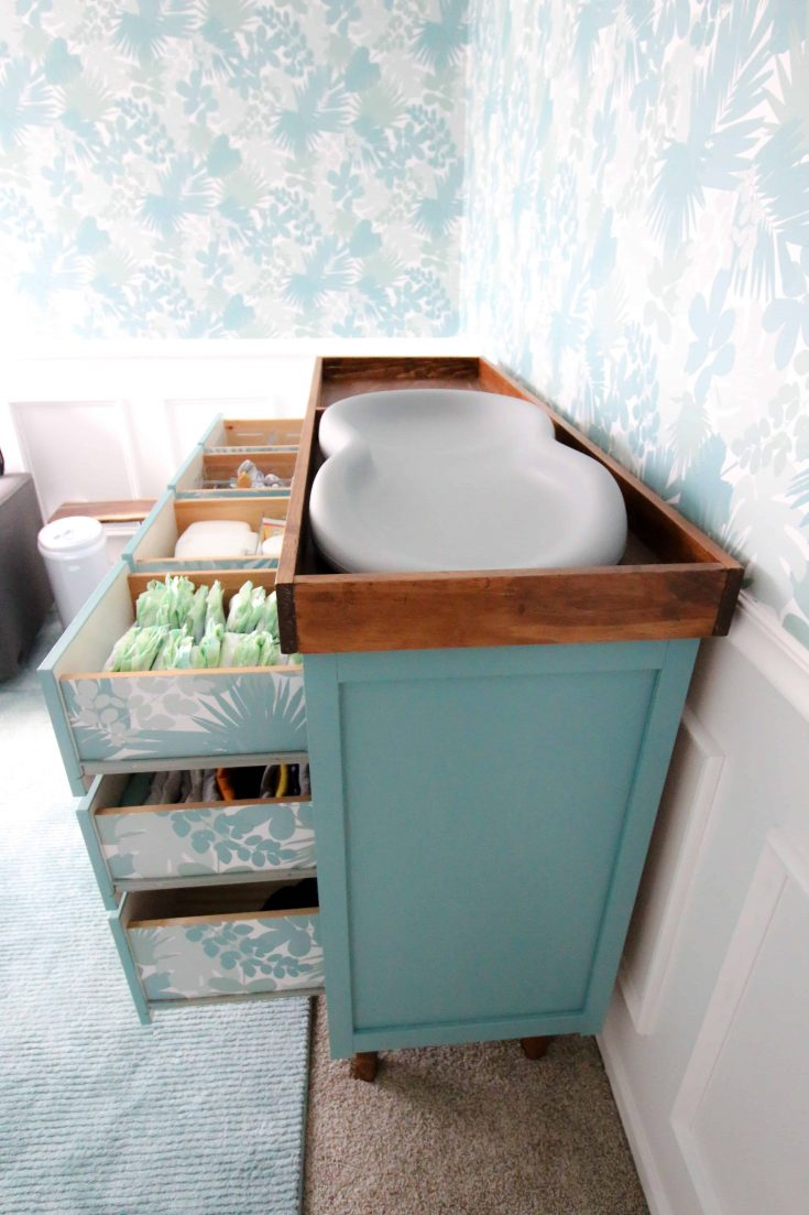 DIY Changing Table Topper