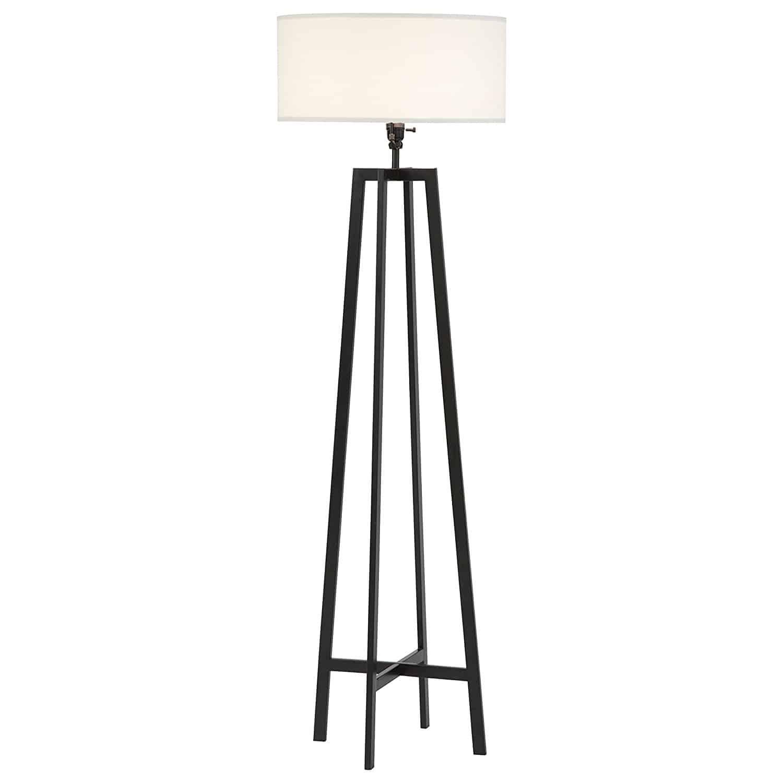 Stone & Beam Deco Black Metal Floor Lamp