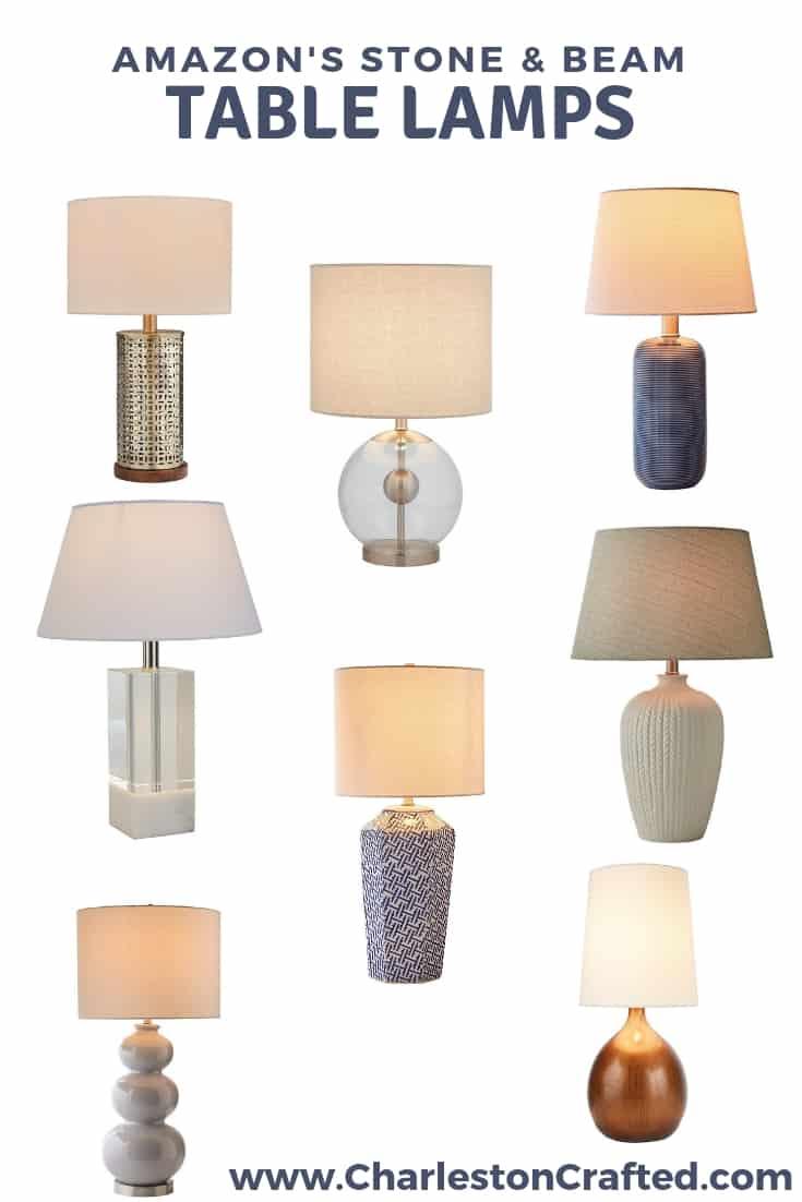 Stone & Beam Lamps