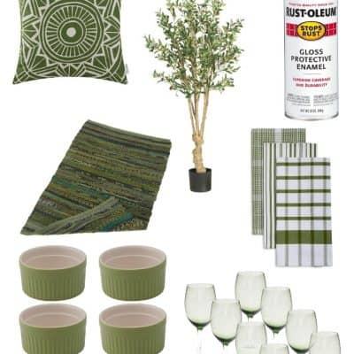 Olive Green Home Decor