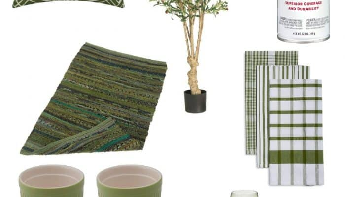 Olive Green Home Decor