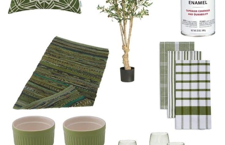 Olive Green Home Decor via Charleston Crafted