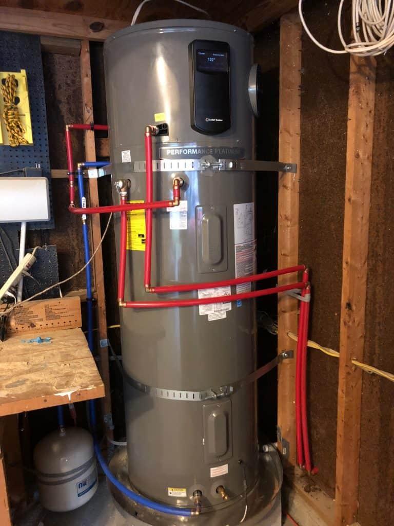 Adding a Rheem Smart Water Heater - Charleston Crafted