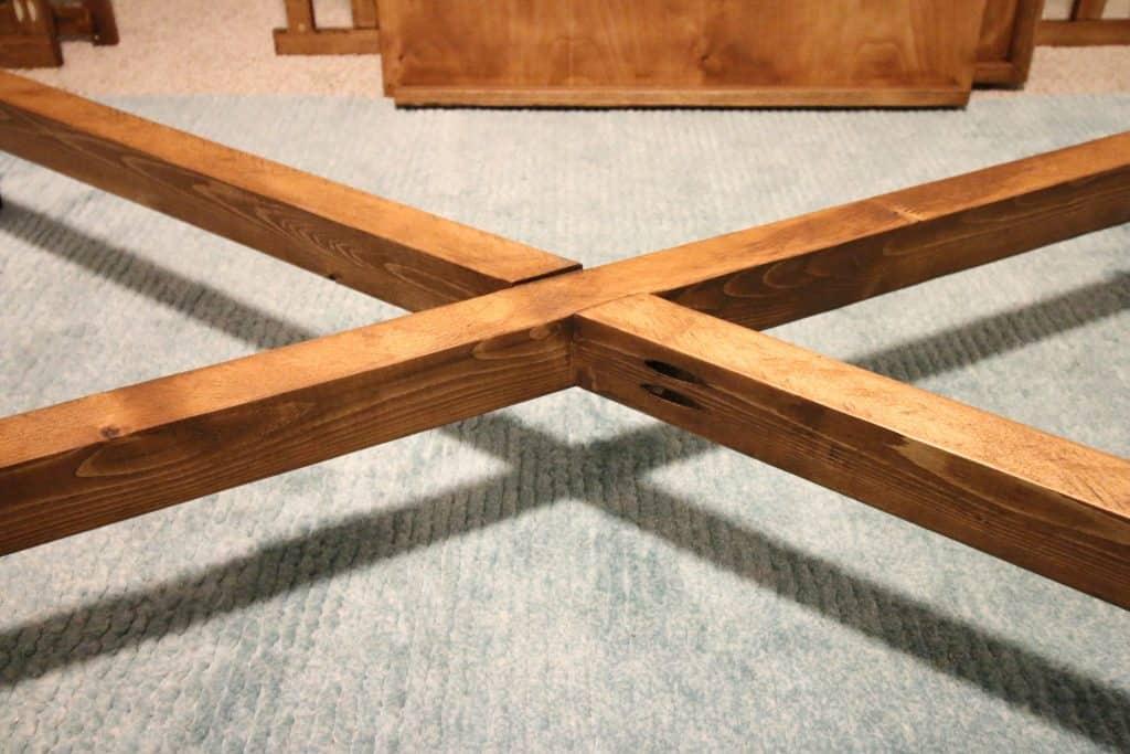 DIY Mid-Century Crib - Charleston Crafted