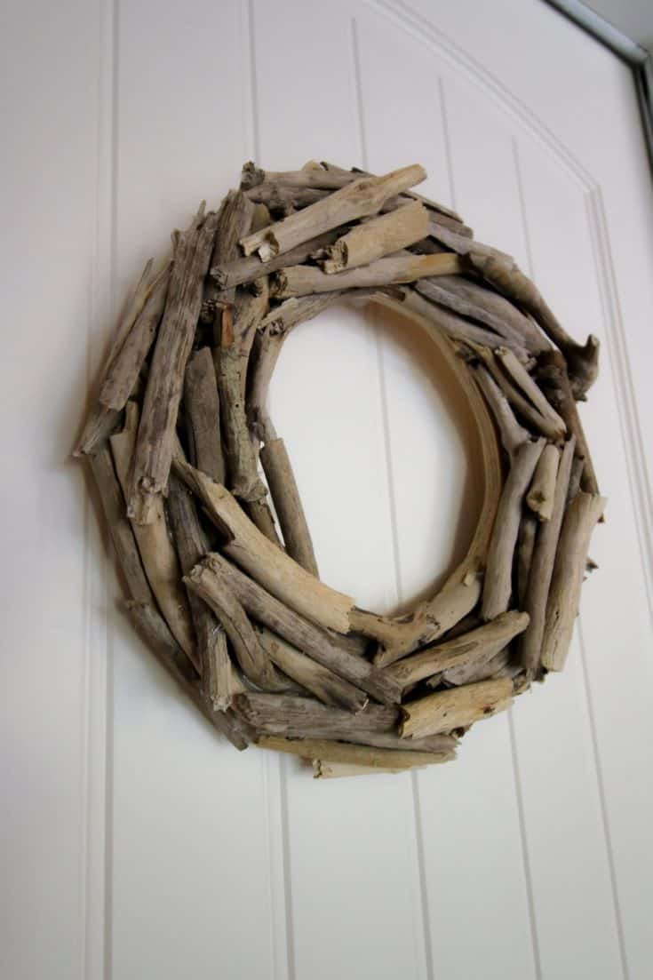 DIY Stick Wreath