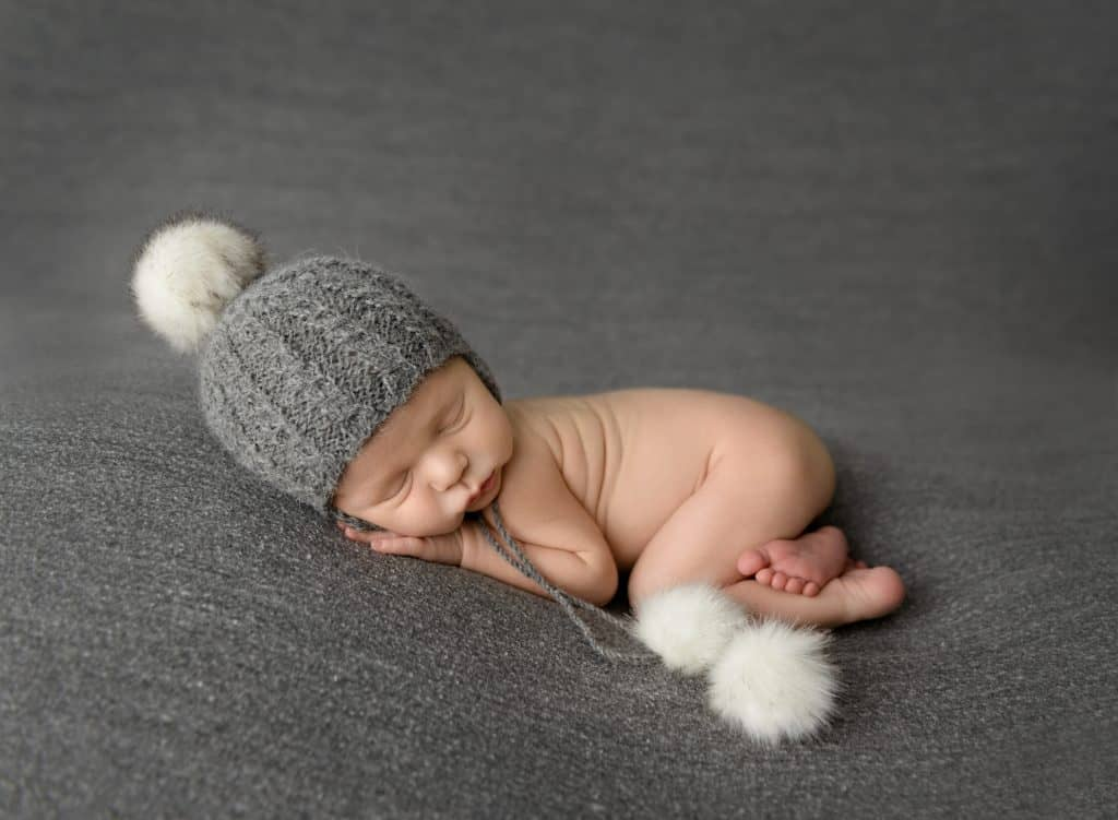 Christmas Newborn Photo - Charleston Crafted