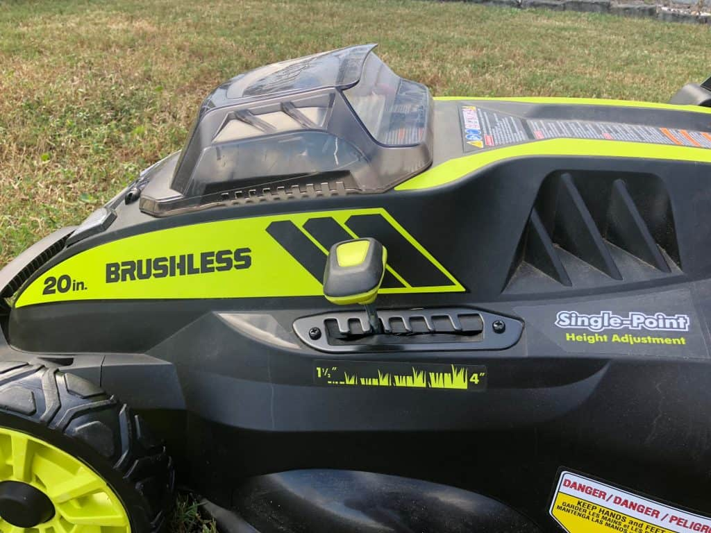 RYOBI 40v Mower Review - Charleston Crafted