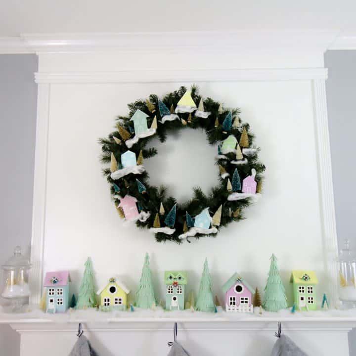 How to make a Christmas Village Display