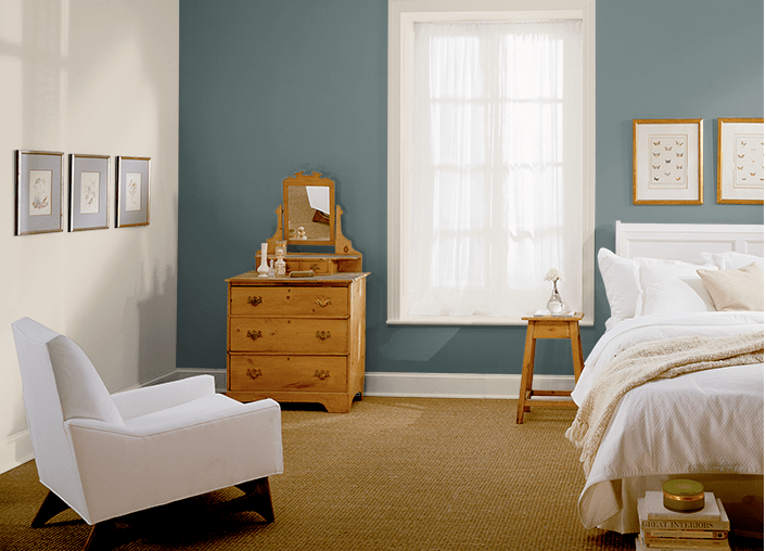 Behr Brooklyn bedroom