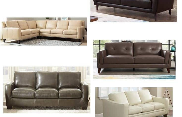 Costco's best leather couches