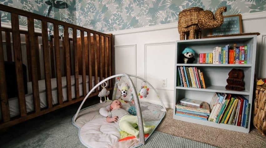 jungle baby nursery