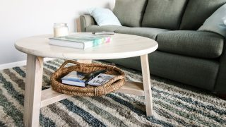 How to build an easy, modern, DIY coffee table