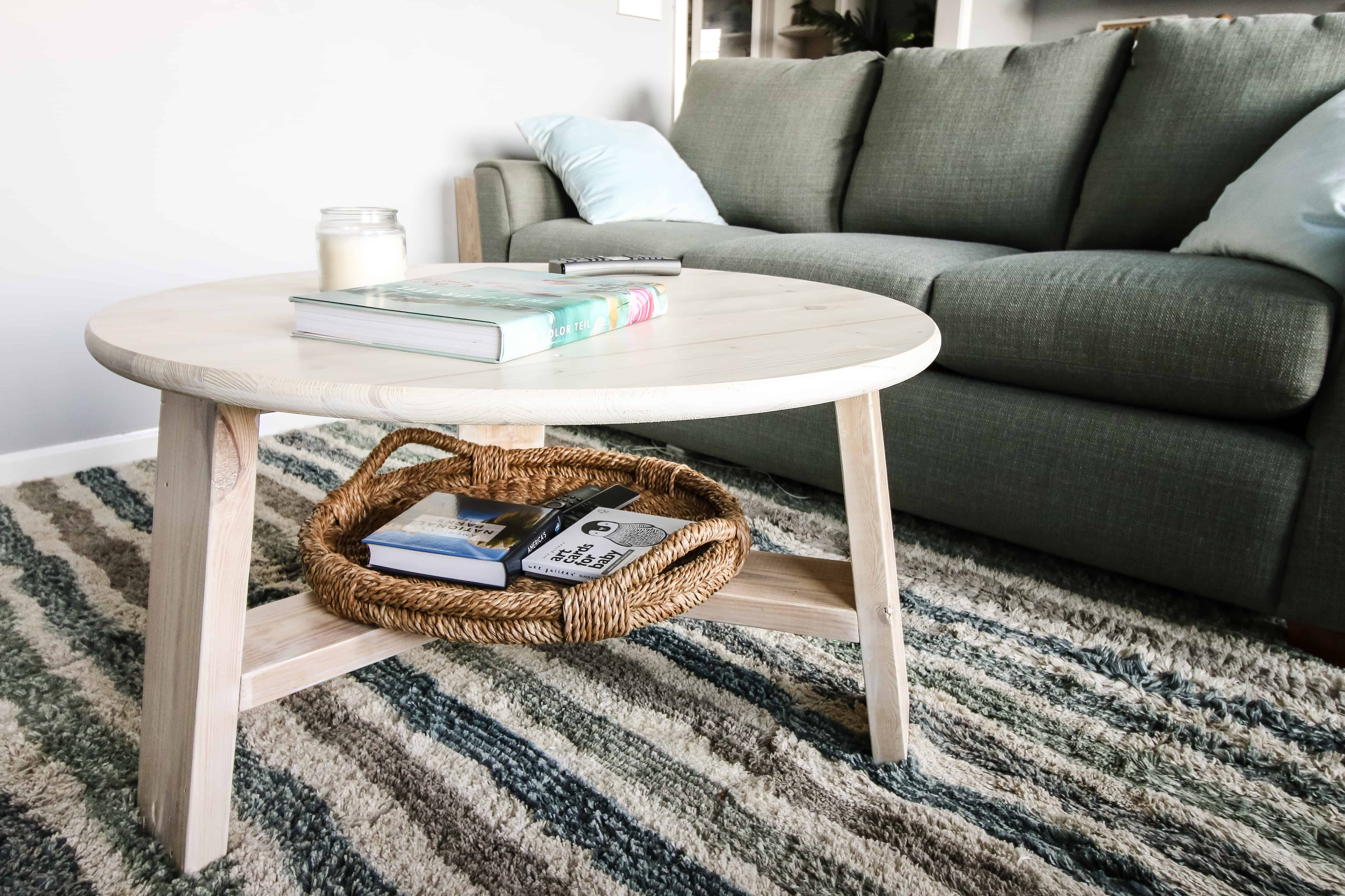How To Build An Easy Modern Diy Coffee Table
