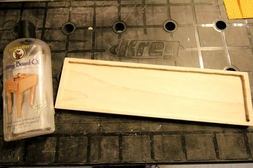 Tile and Wood Tray - Charleston Crafted