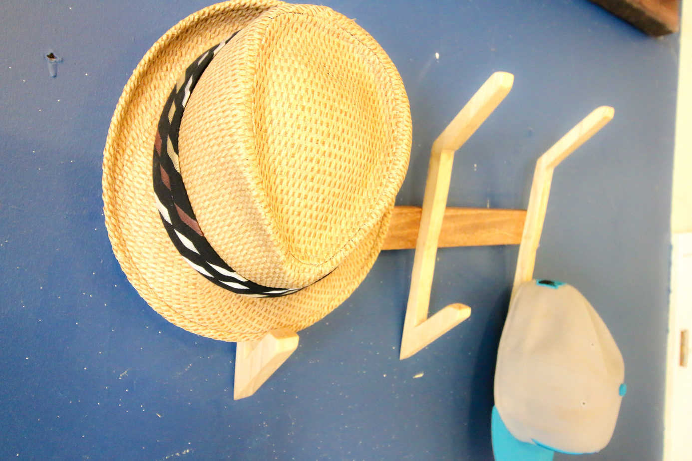 DIY Wooden Hat Rack - Charleston Crafted