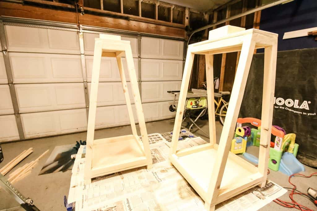 How to Build DIY Wooden Lanterns - Charleston Crafted