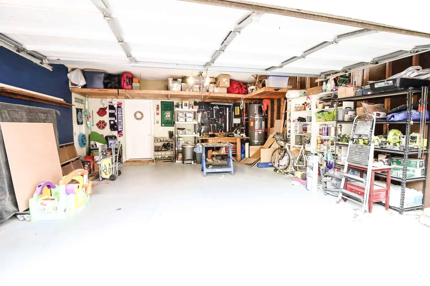 Garage Organization Plan - Charleston Crafted