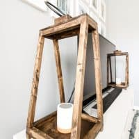 How to Build Wooden Lanterns