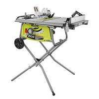 Ryobi 10 in. Portable Table Saw with Rolling Stand