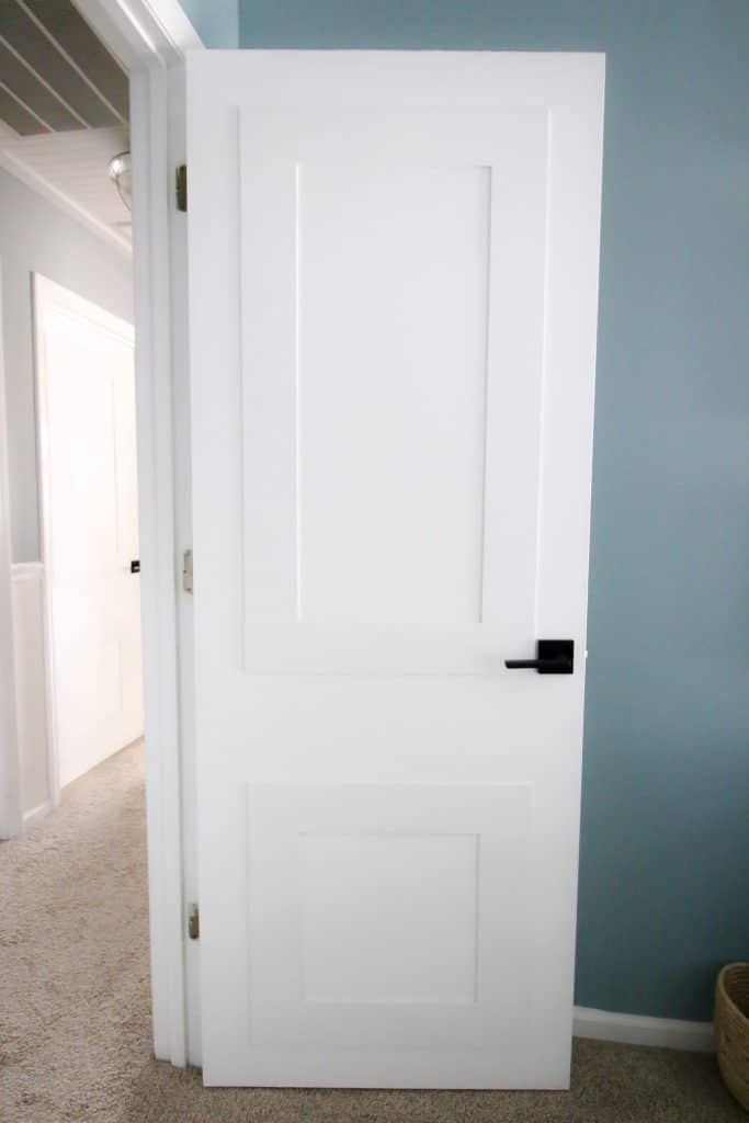 Updating Interior Doors With Molding