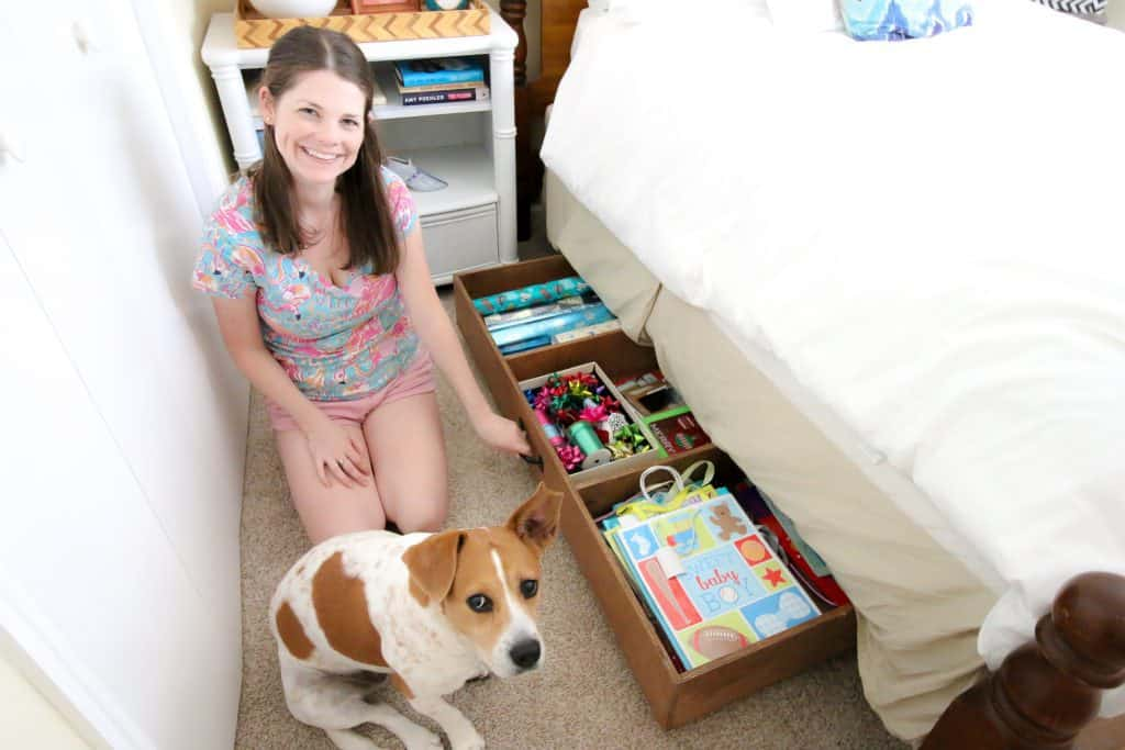 DIY Under Bed Storage - Charleston Crafted