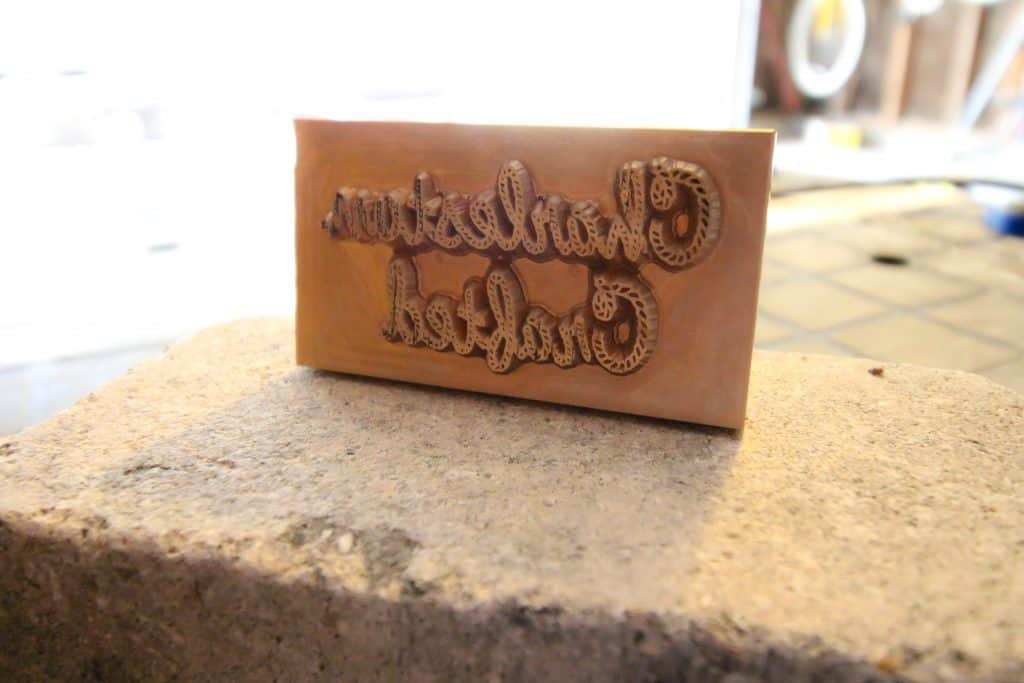 Custom Branding Iron - Charleston Crafted
