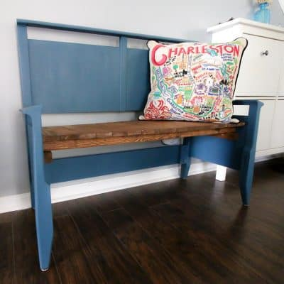 Thrift Flip: Headboard Bench