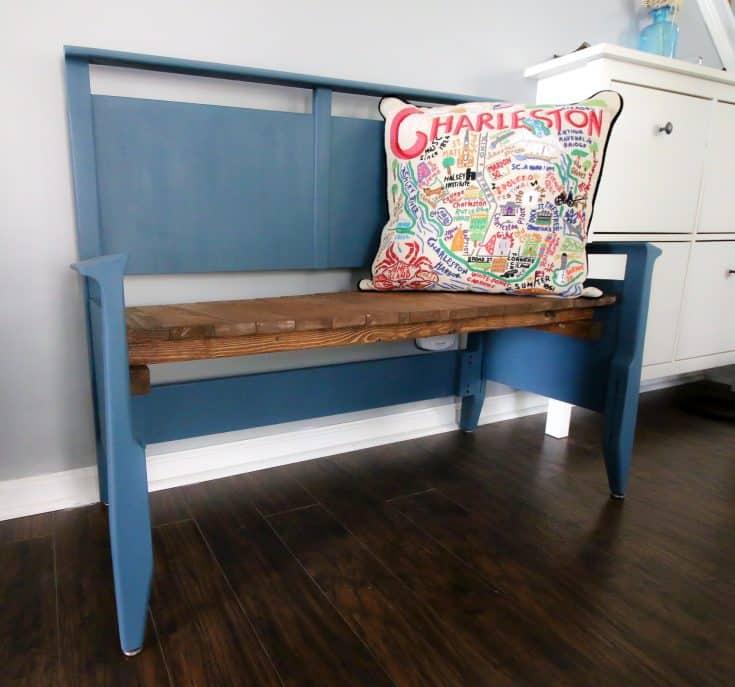 Thrift Flip: Headboard Bench