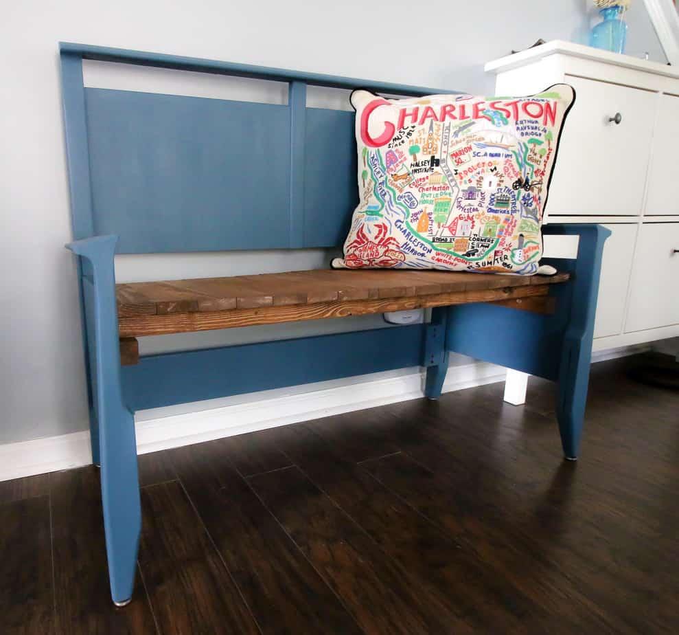 Headboard Bench - Charleston Crafted