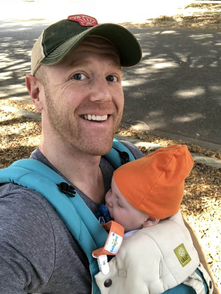 Last Day of Paternity Leave - Charleston Crafted
