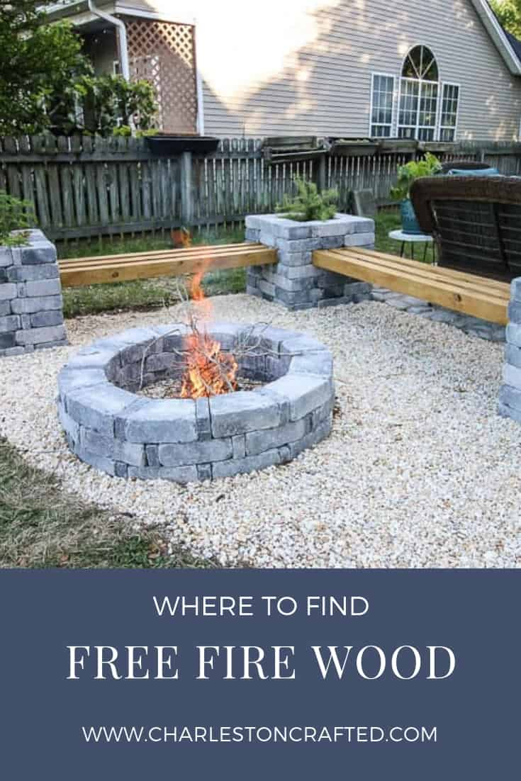 Where to find free firewood