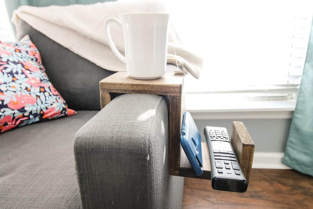 Couch Arm Cup Holder - Charleston Crafted