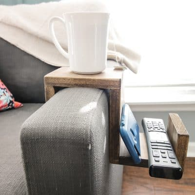 Couch Arm Cup Holder