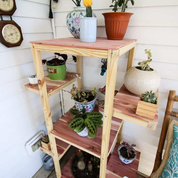 Outdoor Rolling Plant Stand