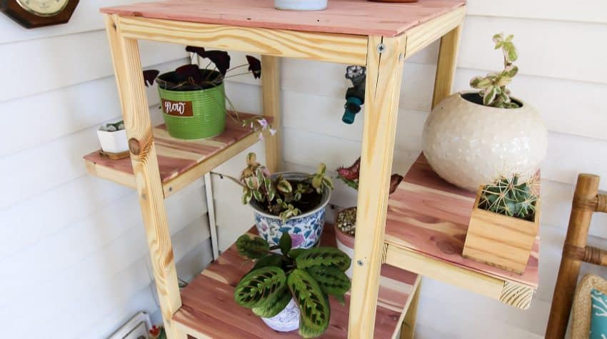 Outdoor Rolling Plant Stand - Charleston Crafted