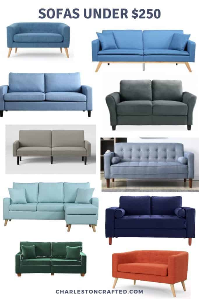 cheap sofas under $250
