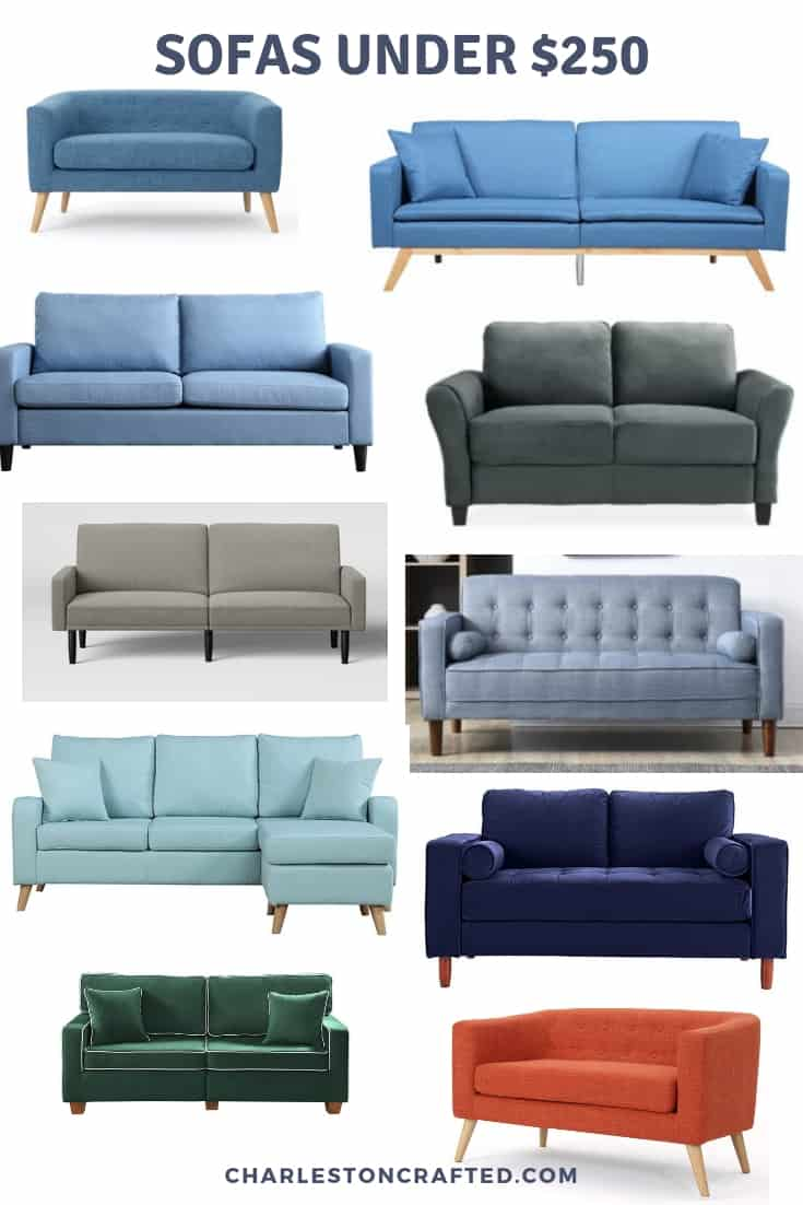 cheap sofas under $250