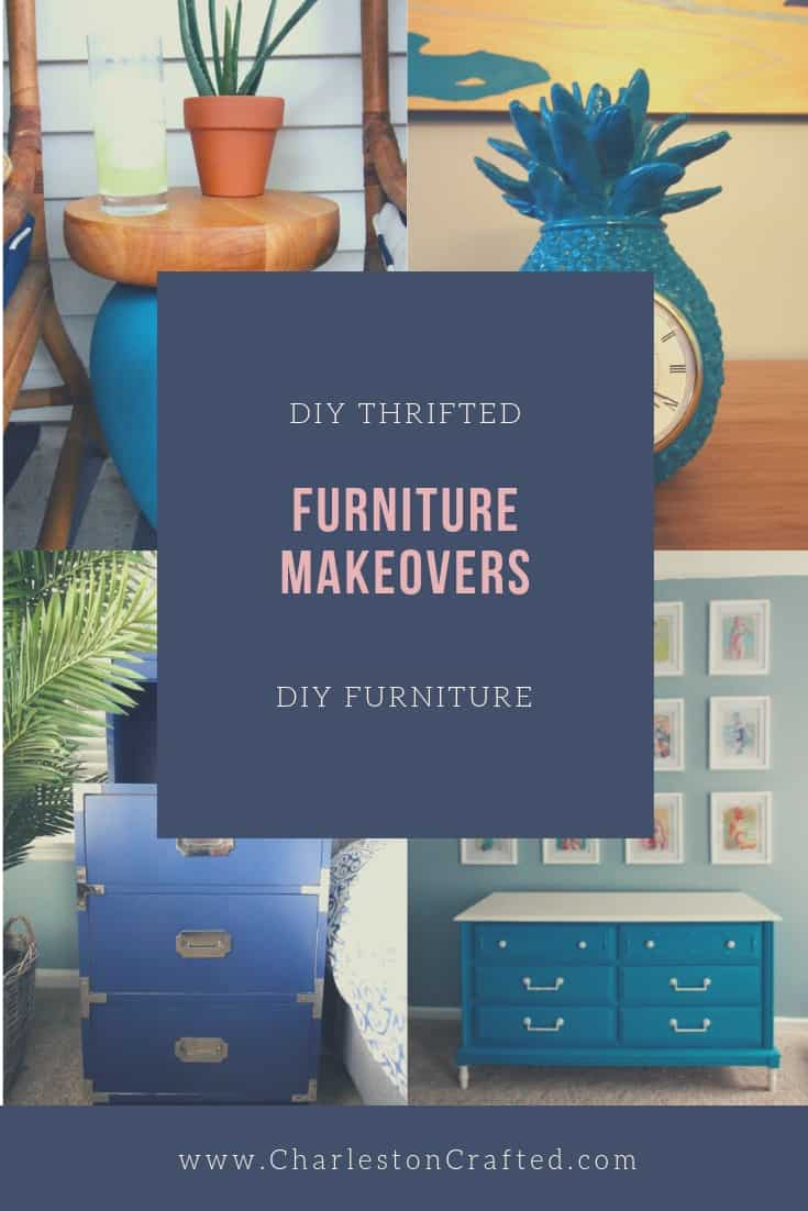 thrifted furniture makeovers