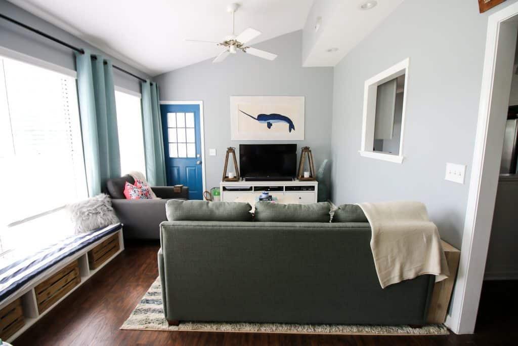 Sunroom Refresh Reveal - Charleston Crafted
