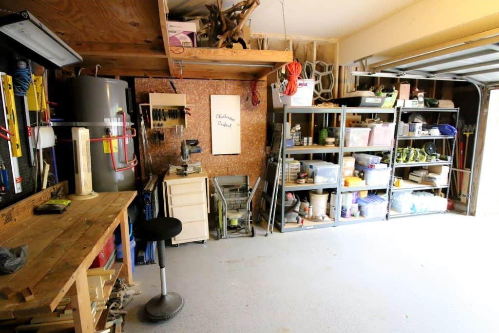Garage Organization Reveal - Charleston Crafted