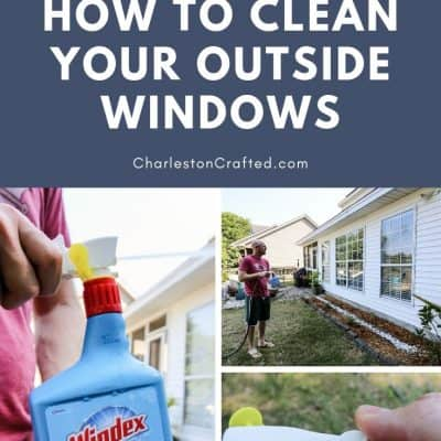 How to Clean Outdoor Windows